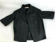 MARNI, Ladies Grey Wool Short Armed Jacket / Coat, EU38/UK8, RRP £750