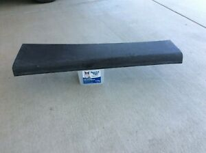 1936  mopar / plymouth coupe drivers side running board  fibre  glass . new ,