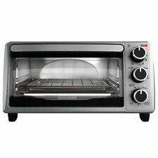 New listing Black+Decker To1755Sb 4-Slice Toaster Oven - Stainless Steel