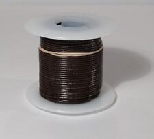 24 AWG UL1007 UL1569 BLACK Hook-up Wire 100 foot spools ~ 10 Colors Available!