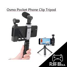 Selfie Mount Metal Tripod Foldable Phone Holder Adapter Clip for DJI Osmo Pocket