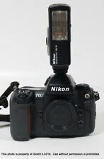 NIKON F100 Film CAMERA BODY + SPEEDLIGHT SB-15 FLASH