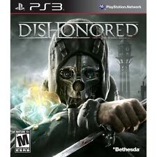 NEW Dishonored Playstation 3 PS3 bethesda FAST FREE SHIPPING sony