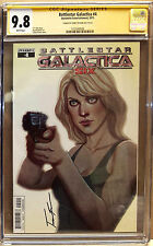 Battlestar Galactica #4 CGC SS 9.8 Signed by Jenny Frison only 9.8 SS on census