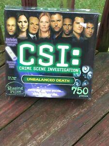 "CSI: Crime Scene Investigation ""Unbalanced Death"" 750-Piece Puzzle"