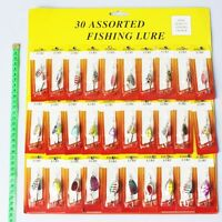 30pcs Kinds Of Spinner Spoon Fishing Lures Pike Salmon Bass Cheap and Fine FO
