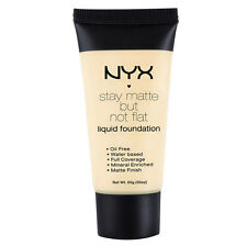 NYX Stay Matte But Not Flat Liquid Foundation 1.18 oz color SMF01 Ivory