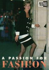 Princess Diana Looking Très Chic --- Royal Family Trading Card, Not a Postcard