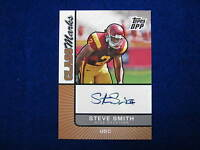 2007 Topps Steve Smith Class Marks rookie autograph  Giants