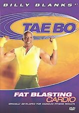 Billy Blanks - Tae Bo: FAT BLASTING CARDIO (DVD) workout taebo SEALED NEW