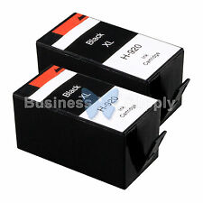 2 BLACK 920XL New GENERIC 920 Ink for HP Officejet 6000 (E609) 6500 (E709 E710)