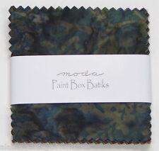 "Moda FABRIC Charm Pack ~ PAINT BOX BATIKS ~ Laundry Basket  40 - 5"" squares"