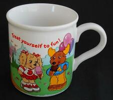 The Get Along Gang ~ Treat Yourself To Fun ~ Coffee Cup Mug ~ American Greetings