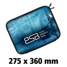 Housse Pochette Tablette PC Portable Mac 13 pouces PERSONNALISABLE 28X36cm NEUF