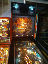 New ListingDungeons and Dragons Pinball Machine with Topper Rare Cult D&D works! w/Dragon