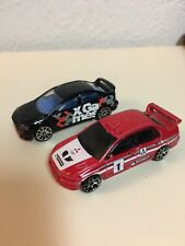 Hot Wheels Mitsubishi Lancer Evo Lot 2 Loose W/ X Games 5 Pack Exclusive
