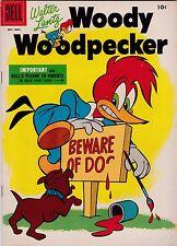 Walter Lantz Woody Woodpecker #33 VG- 3.5 1955 Dell See my store