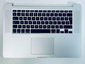 """Genuine Apple Macbook Pro 15"""" A1398 Palmrest Keyboard Late 2013 2014 UK Keyboard"""