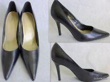 COLIN STUART Black Genuine Leather Pointed toe  Pumps Size 7