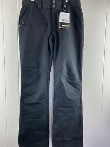NWT Obermeyer Malta Black THERMORE Water Resistant Pants Women's Size 4/Long