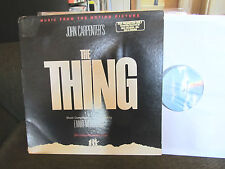 THE THING OST LP john carpenter Ennio Morricone OOP RARE 1982 PROMO soundtrack!!