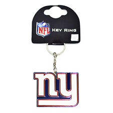 NFL New York Giants stemma del club in metallo portachiavi portachiavi portachiavi NUOVO REGALO NATALE