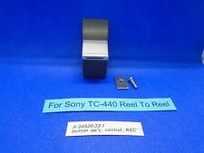 For Sony TC-440 Button assemby, Control Record X-34920-32-1 Used