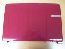 Packard Bell TJ64 MS2274 Laptop Screen Lid (Red) & Plastic Surround Bezel (6860)