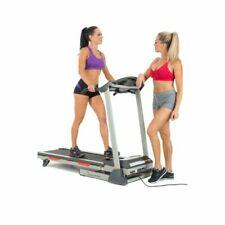 Sunny Health Fitness SF-T7603 Motorized Treadmill, Grey
