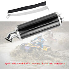Motorcycle ATV Off-road Exhaust Pipe Muffler Silencer Slip On Killer 32mm Black