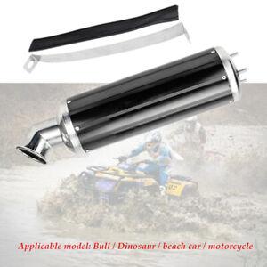 Motorcycle ATV Off-road Exhaust Pipe Muffler Silencer Slip On Killer 32mm Black