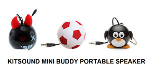 Kit Sound Mini Buddy Wired Portable Speaker 3.5mm Jack for iPhone iPad Android