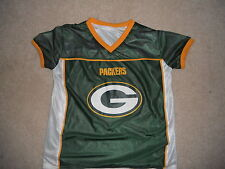 Green Bay Packers Flag Football Jersey Reversible Usa Football Play 60 Youth Lg