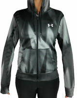 New With Tags Women's Under Armour Cold Gear Logo Athletic Gym Full Zip Hoodie