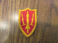 Korean war Army Air Defense Command patch MERROW Edge Fully embroidered  ARADCOM