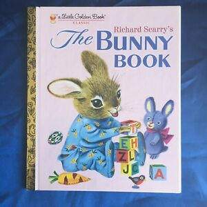 Richard Scarry's The Bunny Book - A Little Golden Book Classic - 2005