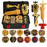 12Pcs Beyblade Gold Burst Evolution Set Spinning Grip Arena Launcher Battle Toy