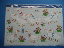 DUCK  TRANSFERS   FOR  FURNITURE    (B135)