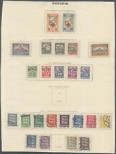 Estonia - Lot of MH/Used Stamps on Collector Page 10000/53