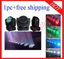 1pc 36*3W RGBW Led Beam Moving Head Light Led Wash DJ Stage Light Free Shipping