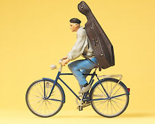 Preiser 45070 Student on Bicycle for LGB, 1:22,5