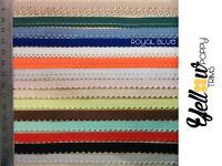 Pretty Various Colours Scallop Picot Edge Light Lingerie Elastic 5 or 10 Metres