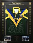 Blazed In Glory - 1997 Australian Superleague Tour - NRL Signed & Framed Jersey