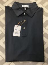 Peter Millar Crown Sport Summer Comfort Polo Golf Shirt Size Medium. Gray $84