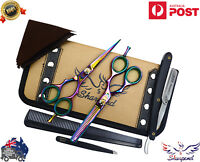 Professional Barber Hair Cutting Thinning Scissors Shears Salon Hairdressing Set