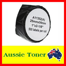 1x 11352 SD11352 Dymo LW Compatible Label Roll 25mm x 54mm for Dymo LabelWriter