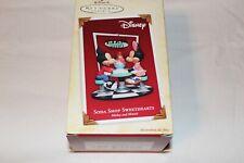 2005 Hallmark Mickey and Minnie Soda Shop Sweethearts Ornament