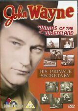 JOHN WAYNE WINDS OF THE WASTELAND AND HIS PRIVATE SECRETARY - 2 CLASSIC FILMS