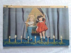 Leipziger Leipzig Adventskalender Käthe Kruse-Puppen, 1960