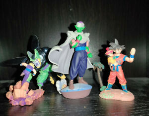 Dragon Ball Z Capsule Neo Megahouse 3 figurines - Cell Gohan Goku Piccolo